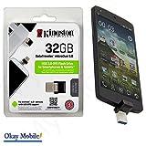 32GB Speichererweiterung Smartphone Kingston 32 GB microUSB
