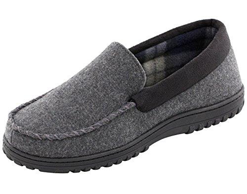 HomrTop, Pantofole uomo Dark Gray