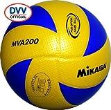 MIKASA Hallenvolleyball MVA 200, mehrfarbig, 5
