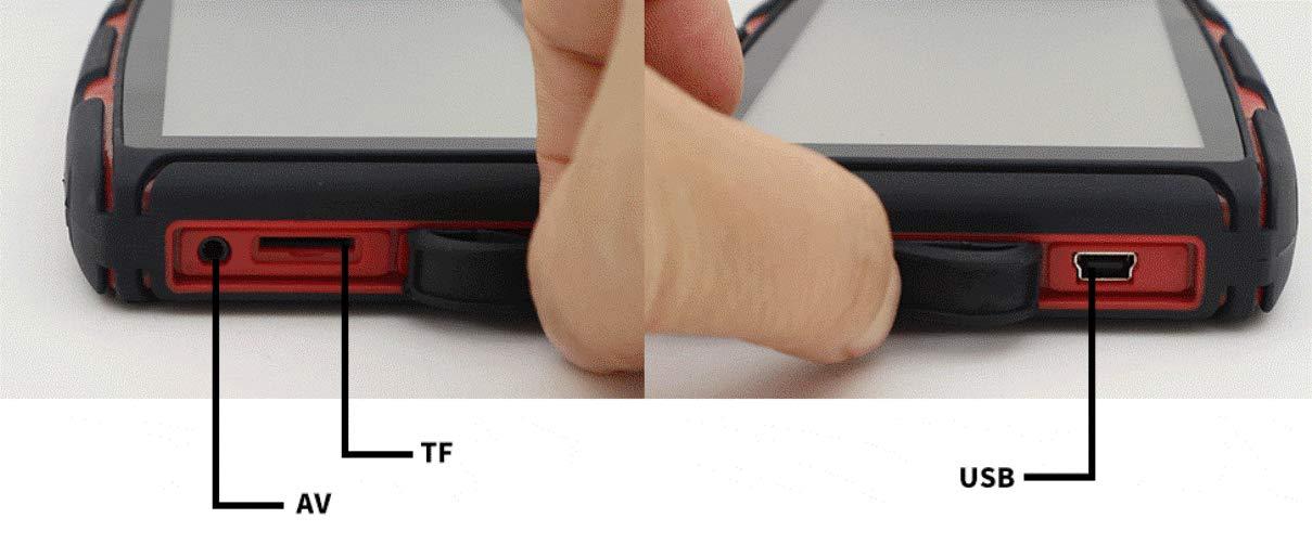 Elebest-Navigationsgert-Rider-A6-Pro-Navigation-fr-Motorrad-und-PKW-5-Zoll-Bildschirm-Android-60-Bluetooth-W-LAN-Wasserdicht-32-GB-Speicher-Freisprecheinrichtung-Fahrspurassistent-Radarwarner