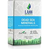 Lass Naturals Dead Sea and Mineral Handmade Soap – Natural Soap with Skin Cleansing and Softening Properties, 125 g – Skin Care