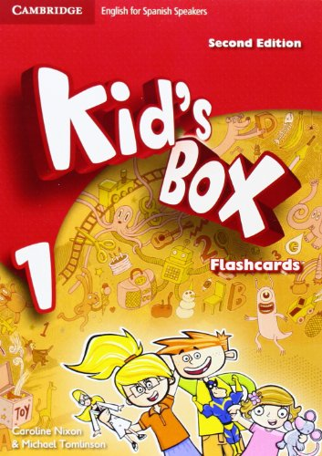 Kid's Box for Spanish Speakers Level 1 Flashcards Second Edition - 9788483238547