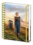 Doctor Who Carnet Bloc-Notes - Le 13e Docteur, Jodie Whittaker, Dame du Temps (21 x 15 cm)