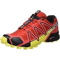 Salomon Men's Speedcross 4 Trail Running Shoe, Synthetic/Textile