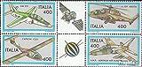 Italia 1834-1837 Sei block (completa) MNH 1983 Aircraft (Francobolli) - Prophila Collection - amazon.it
