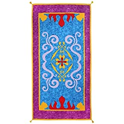 Cerdá 2200003992 Toalla Polyester Princess Jasmin, Azul, 70x140cm
