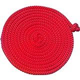 Gymnastik-Springseil 5 Meter verschiedene Farben zur Auswahl (rot)