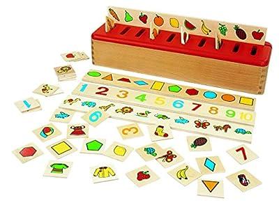 Bsm - Ef31100 - El juego de exploración - Caja Tri Sistema Montessori de BSM