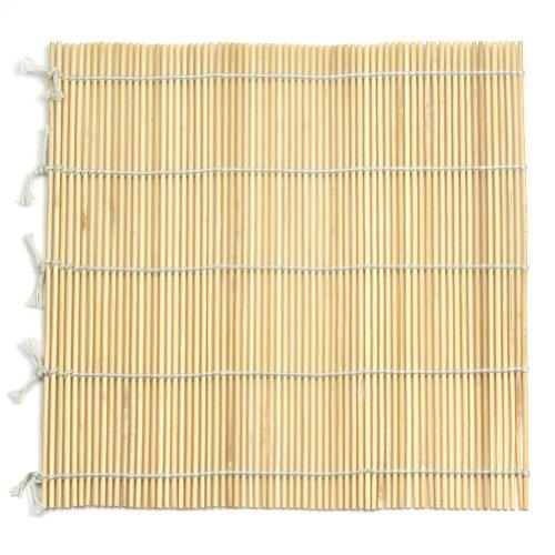 22.5 X 23.8cm Molde Alfombrilla Estera de Bambú para Preparar Sushi Japonés