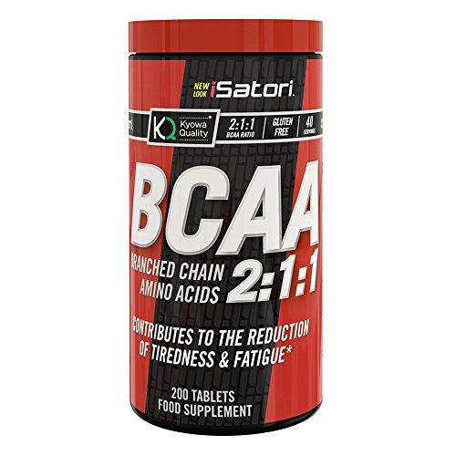 Isatori integratore alimentare di aminoacidi bcaa 2:1:1 - 200 compresse