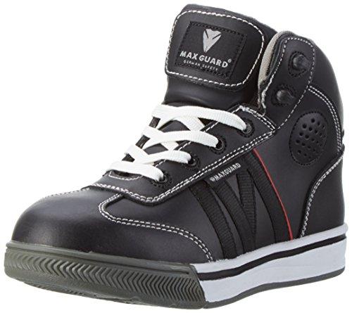 Maxguard 900300, Zapatillas y Gorro Unisex Adultos, Negro (Schwarz), 45 EU