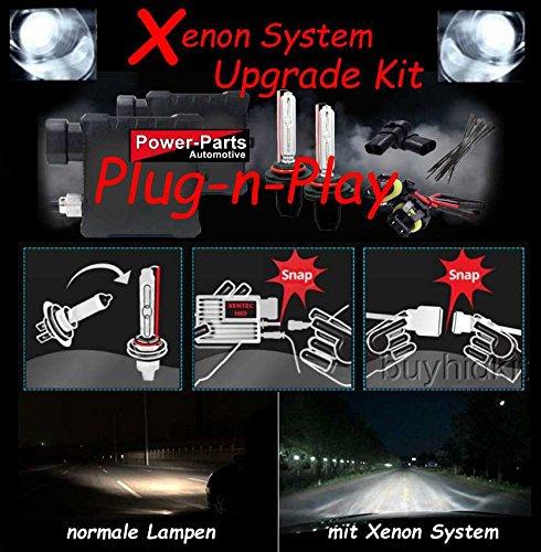 Upgrade Kit HID Xenon completo Kit completo Kit Dodge Ram 1500, 2500, 3500BJ: 06-12/Challenger BJ: 09-14/Chevrolet Camaro BJ: 10-15/Jeep Wrangler BJ: 07-16/Ford F150BJ: 04-14 - Ford Mustang Horn