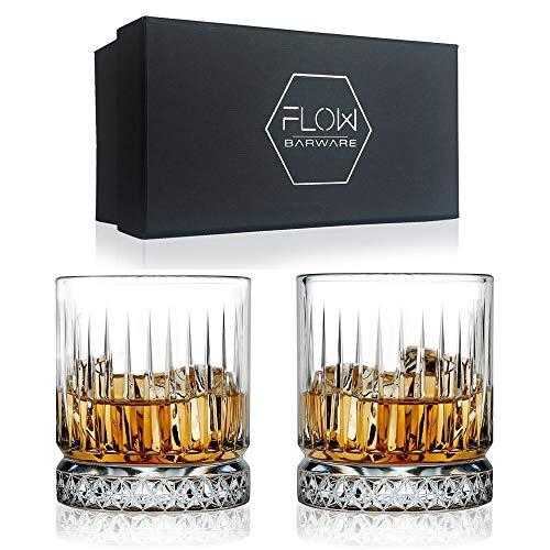 vino e gin tonic drink 27 x 27mm Acciaio inossidabile per whisky riutilizzabili FLOW Barware 10 cubetti di ghiaccio in acciaio inox Argento
