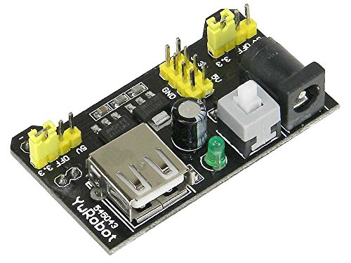 SunRobotics Bread Board Power Supply(3.3V/5V/12V) Best for Project & Prototyping  available at amazon for Rs.169