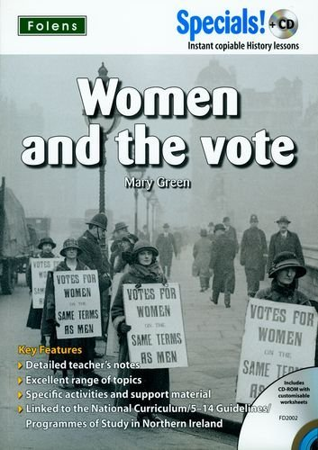 Secondary Specials! +CD: Women and the Vote (Specials! +CD) by Mary Green (2007-03-31) -