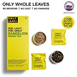 #4: Onlyleaf Dandelion Green Tea, 25 Tea Bags with 2 Free Exotic Samples