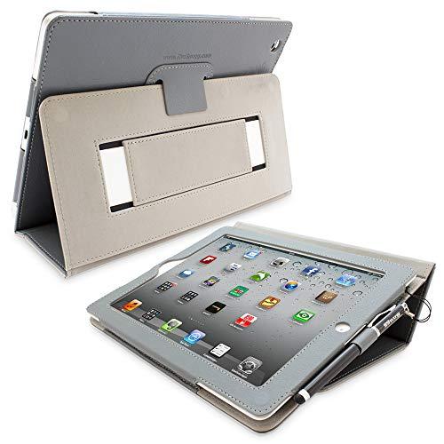Snugg iPad 2 Hülle (Grau), Smart Case Sleep/Wake Funktion