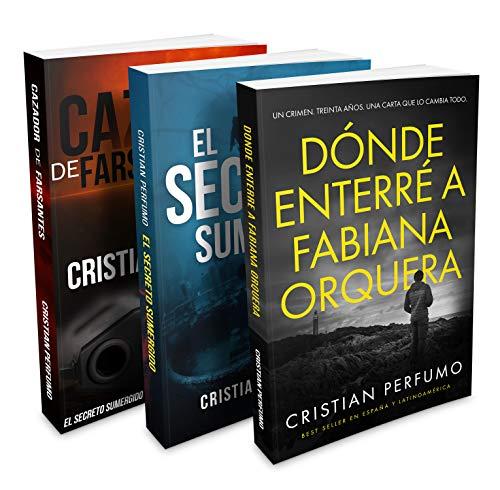 Libro ambientado en la Patagonia: La trilogía de la Patagonia: Tres novelas de misterio que han cautivado a miles de lectores de Cristian Perfumo
