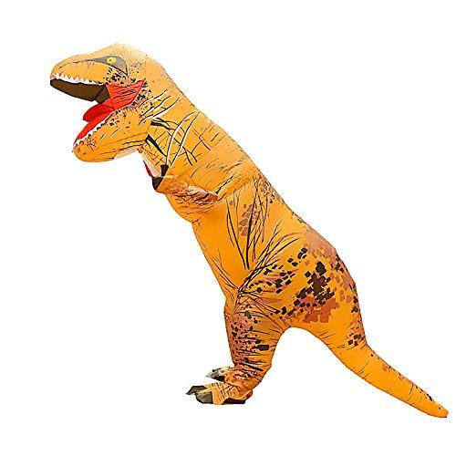 Kostüm T-rex Anzug Dinosaurier Suit Outfit Cosplay Dinosaur Costume Fasching Karneval Geburtstagsparty Rollenspiel Verkleidung für Erwachsene (T-rex Outfit)