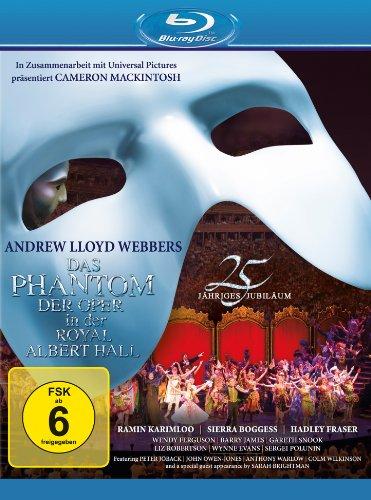 Theater Tanz Musical Kostüm - Das Phantom der Oper - 25jähriges Jubiläum [Blu-ray]