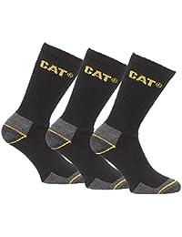 Caterpillar Cat 3 Pair Pack Mens Work Socks