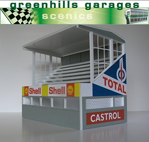 Greenhills Scalextric Slot Car Building Reims Grandstand