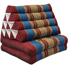 Wifash Cojín Triangular tailandés con colchón 2 Piezas Plegables, ...