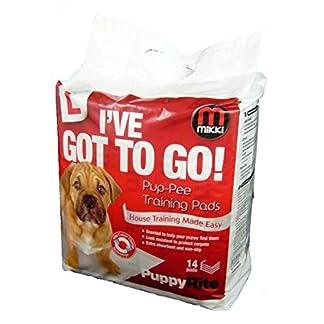 Mikki Puppy Toilet Training Pads – Pup-pee Pads 51cJ1pqdMrL