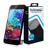 SEITRONIC Display iPhone 7 Schwarz Vormontiert Ersatzdisplay Komplettset Montagewerkzeug LCD Ersatz Touchscreen Glas Reparatur | (iPhone 7, schwarz)