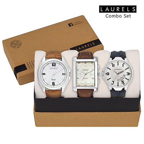 Laurels Combo Of Three Watches (Dip-301-Imp-201-Otr-0103)