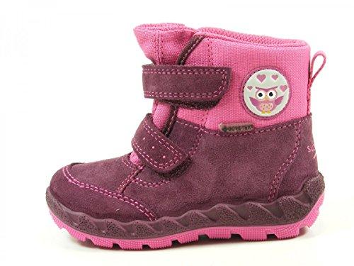 Superfit Icebird, Bottes mi-hauteur avec doublure chaude garçon pink