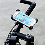[Recommend]iphone Mount Bicycle Holder,Four Concern Screw Clamp 100% Protection for iOS Android GPS Samsung Galaxy S6 S7 Note 5 ect 360 Degrees Rotatable by Neutral