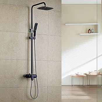homelody colonne de douche colonne douche ensemble de douche robinet mitigeur de douche salle de. Black Bedroom Furniture Sets. Home Design Ideas