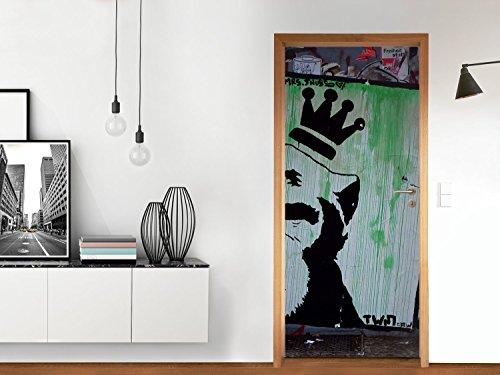 mosaique-murale-sticker-autocollant-reparation-porte-salle-de-bains-design-crowned-ape-835x197-cm