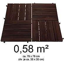 Suchergebnis Auf Amazon De Fur Kunststoff Terrassenplatten Set