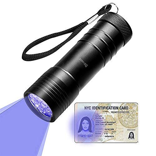 Bihood UV Taschenlampe Blacklight UV Ultraviolet Taschenlampe UV Taschenlampe Kit UV Taschenlampe Ultraviolettes Licht Ultraviolettes Licht Ultraviolett LED Taschenlampe Urin Detektor -
