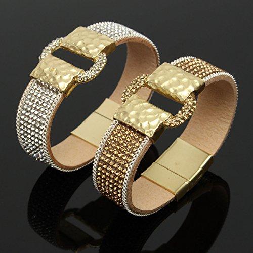 sparkling-full-rhinestone-wide-belt-buckle-magnetic-leather-bracelet-pulsera-pulsera