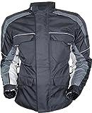 Motorrad Textil Jacke (Winddicht und Wasserabweisend) (L)