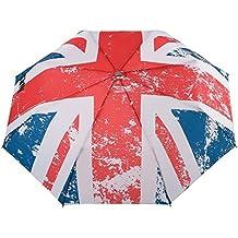 """Neyrat - Parapluie pliable """"Drapeau Anglais"""" - Ultra Léger - Résistant au vent"""
