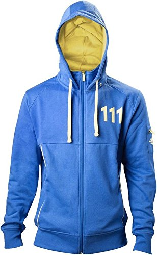 fallout hoodie Fallout 4 Hoodie -XL- Vault 111, blau