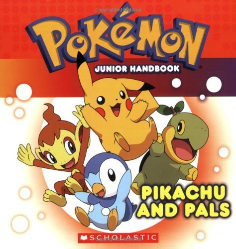 Pokemon: Pikachu and Pals Junior Handbook: Pikachu and Pals Jr. Handbook by Simcha Whitehill (2009-08-01)
