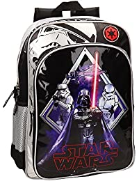 Star Wars Darth Vader Mochila Adaptable a Carro, Color Negro