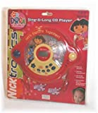 Dora The Explorer Sing-A-Long CD Player with Headset Microphone DTE516