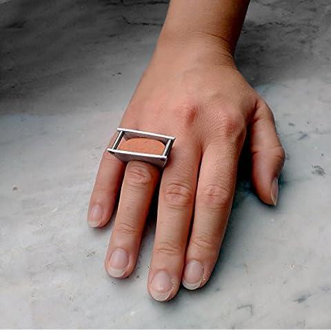 Grip Ring with ceramic piece