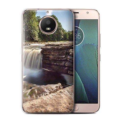 Stuff4® Hülle/Case für Motorola Moto G5S / Fluss Muster/Wasserfälle Kollektion -