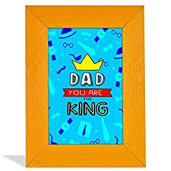 Dad Youre The King Quotation Frame
