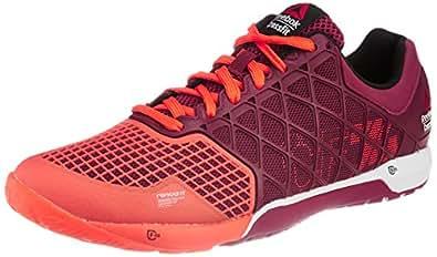 Reebok Women's R Crossfit Nano 4.0 Orange and Berry Running Shoes - 4 UK
