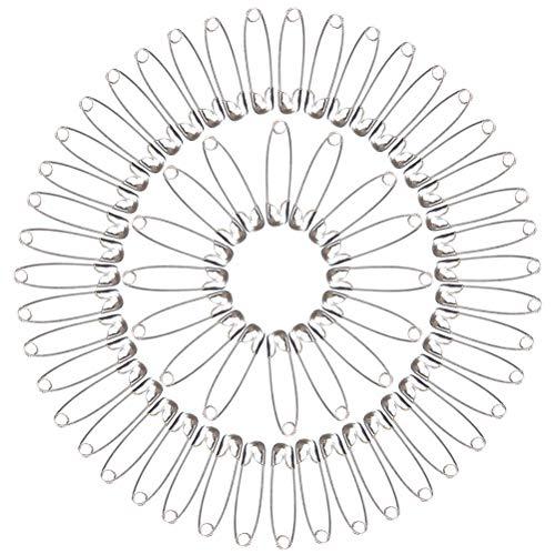 Ruix 1000pezzi spille di sicurezza, mini spille di sicurezza per abbigliamento crafts arts, 26mm