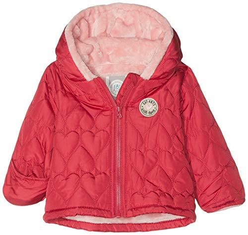 Sanetta Baby - Mädchen Outdoorjacket Jacke, per Pack Rot (Raspberry 3481.0), 68 (Herstellergröße: 068)