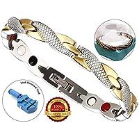 BisLinks® Elegant Twisted Magnetisch Armband Für Frau Health Titanium Carpal Tunnel Linderung Arthritis Chronic... preisvergleich bei billige-tabletten.eu